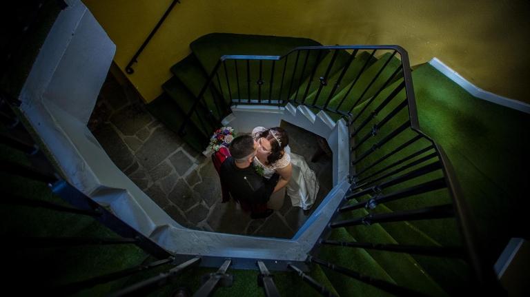 wedding videography Edinburgh white tree wedding films romantic couple