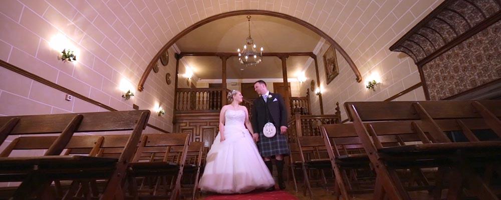 dalhousie castle wedding film Edinburgh videographer