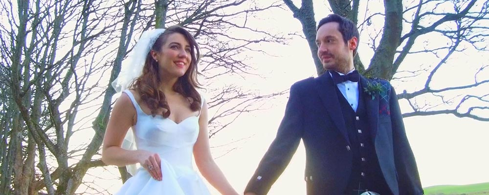 borthwick castle wedding film trailer Edinburgh videographer