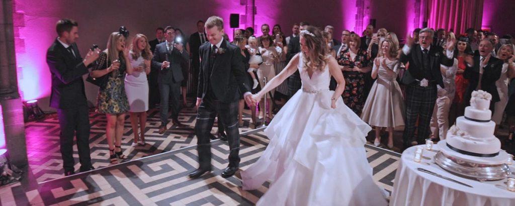 mansfield traquair wedding film Edinburgh videographer
