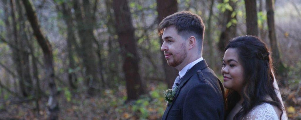 Balbirnie House wedding video - Dariusz and Grace wedding film