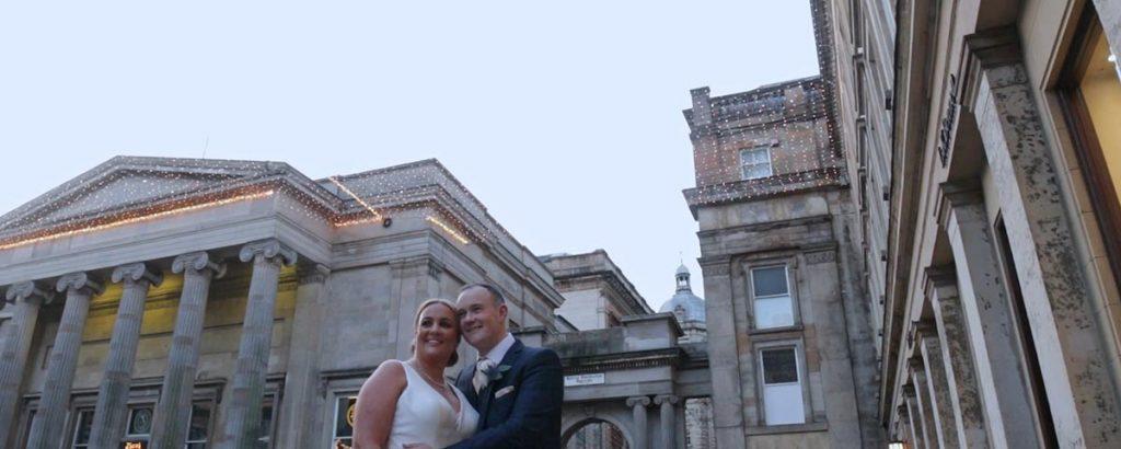 the corinthian club glasgow wedding video film trailer