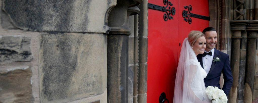 Mansfield Traquair wedding film Edinburgh venue