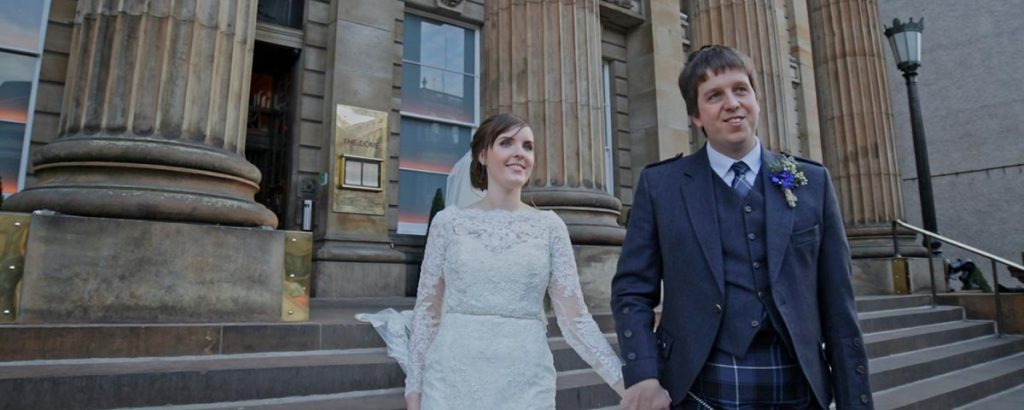the principal edinburgh george street wedding video Jennifer and Scott wedding film