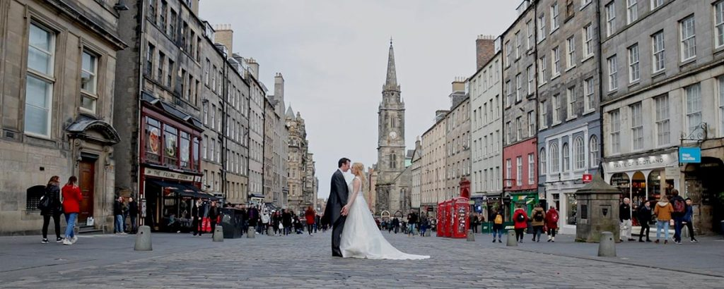radisson blu edinburgh wedding video film trailer