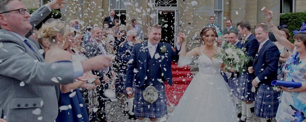 Balbirnie House wedding film trailer