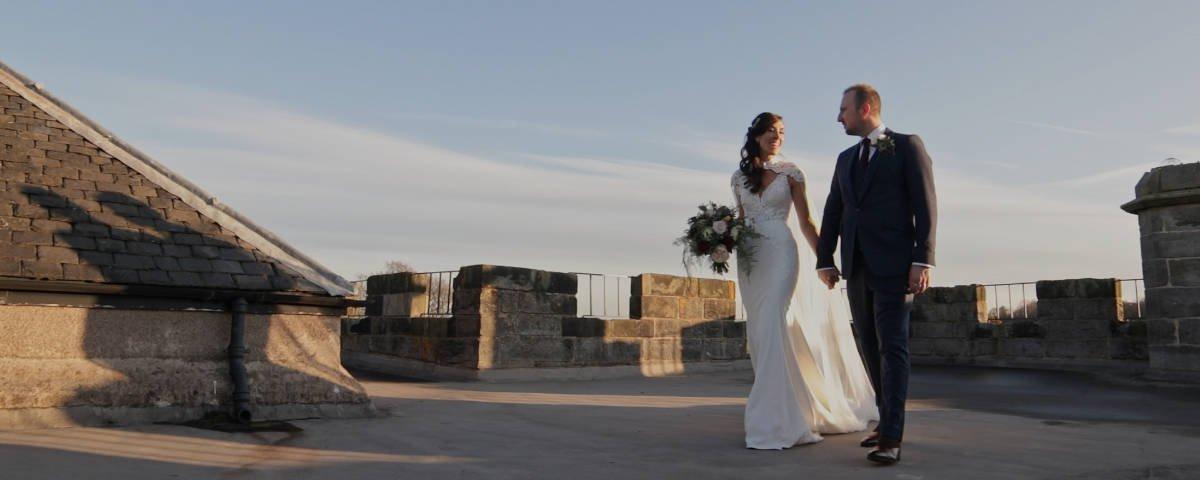 Dundas Castle wedding film trailer video
